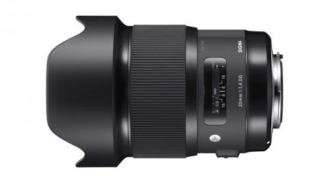 Sigma 20mm f/1.4 (A) DG HSM objektív Nikonhoz