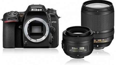 Nikon D7500 (3év) + AF-S DX 18-140 VR + AF-S DX 35mm
