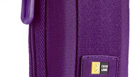 Case Logic Kompakt fényképezőgép tok lila