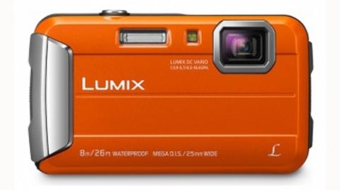 Panasonic DMC-FT30EP (narancs) digitális fényképezőgép
