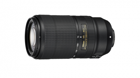 AF-P DX 70-300mm f/4.5-5.6E ED VR objektív