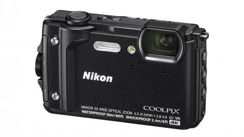 Nikon Coolpix W300 (fekete) digitális fényképezőgép