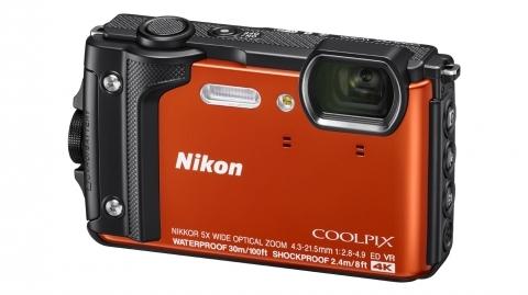 Nikon Coolpix W300 (narancs) digitális fényképezőgép