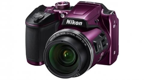 Nikon Coolpix B500 (lila) digitális fényképezőgép