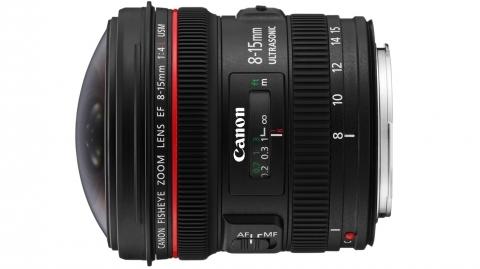 Canon EF 8-15mm f/4L USM halszem optika