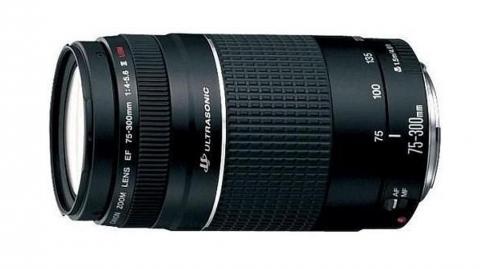 Canon EF 75-300mm f/4-5.6 III. USM objektív