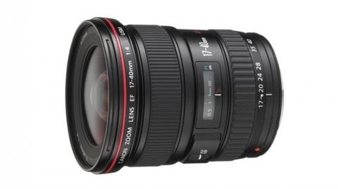 Canon EF 17-40mm f/4.0L U objektív