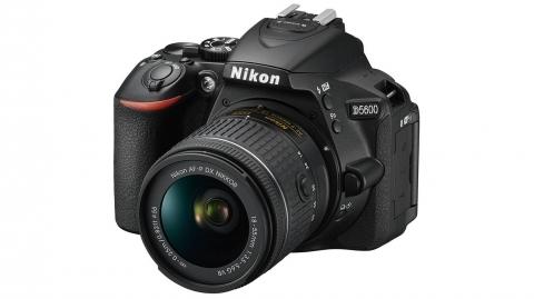 Nikon D5600 váz (fekete) + 18-55 AF-P kit