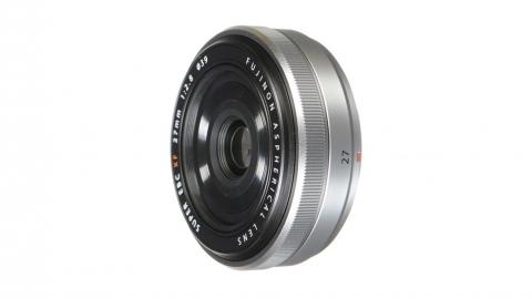Fujinon XF 27mm f/2.8 objektív (ezüst)