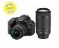 Nikon D5600 váz (fekete) + 18-55 AF-P DX VR + 70-300 AF-P VR kit